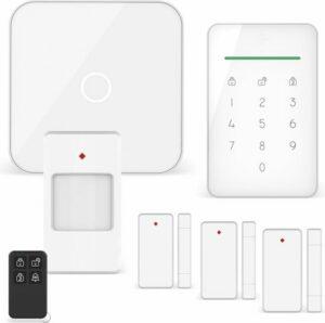 ELRO AS90S Home+ Slim Draadloos Alarmsysteem – Wifi – GSM Functie – Als Beste Getest