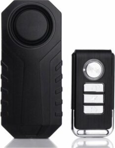 Multifunctioneel Alarm met Afstandsbediening - Alarmsysteem draadloos voor Fiets Scooter Motor Raam Deur Huis