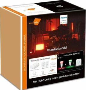 Voordeelbundel WoonVeilig Alarmsysteem + Philips Hue Starterkit