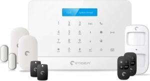 eTIGER S6 Smart Home Draadloos Alarmsysteem - WIFI - GSM-functie - Inclusief accessoire pakket